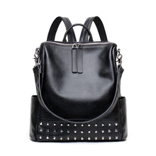 Load image into Gallery viewer, Amethyst M7724 Fashion Rivet Leather Single-shoulder bag / Backpack