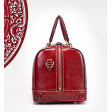 Load image into Gallery viewer, Amethyst M7841 Embossed Leather Single-shoulder bag / Handbag
