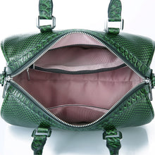 Load image into Gallery viewer, Amethyst AA72 Luxury Snakeskin grain Leather Single-shoulder bag / Tote - Multiple colors