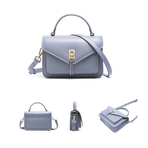 Amethyst AB85 Leather Elegance simplicity Single-shoulder bag/Tote - Multiple colors