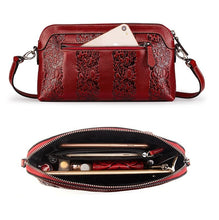 Load image into Gallery viewer, Amethyst M9805 Embossed Leather Single-shoulder bag - Multiple colors