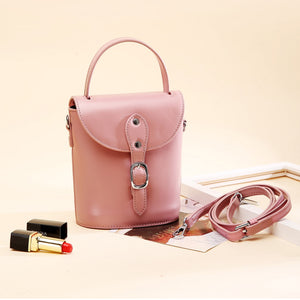 Amethyst AA66 Leather Elegance simplicity Shoulder bag - Multiple colors