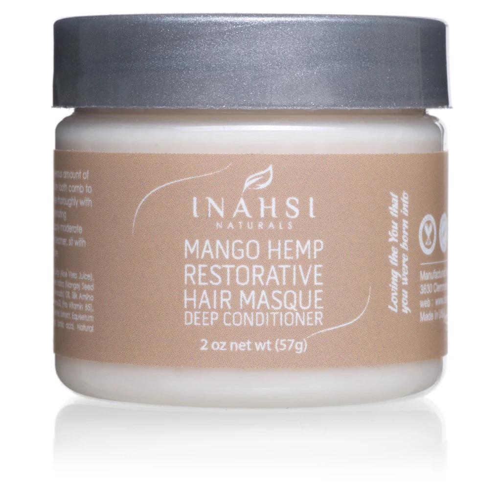 2 oz - Mango Hemp Restorative Deep Conditioner