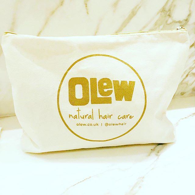 Olew Organic Cotton Toiletry Bag