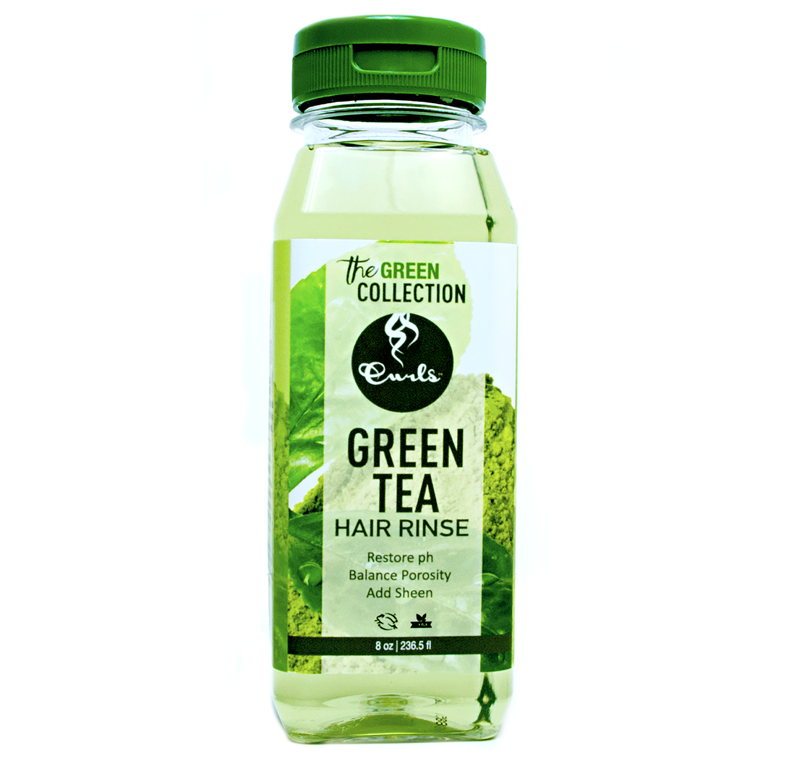 Green Tea Hair Rinse