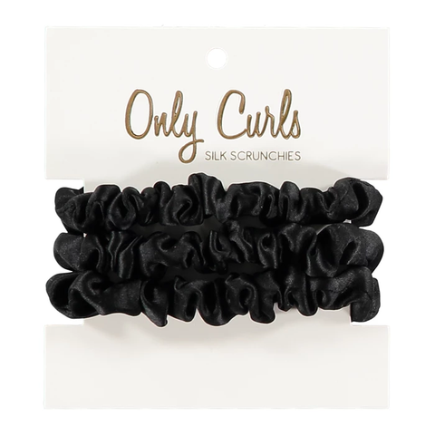 Mini Silk Scrunchies
