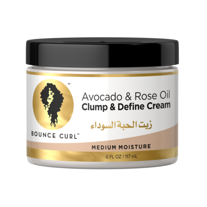 Avocado & Rose Oil Clump and Define Cream