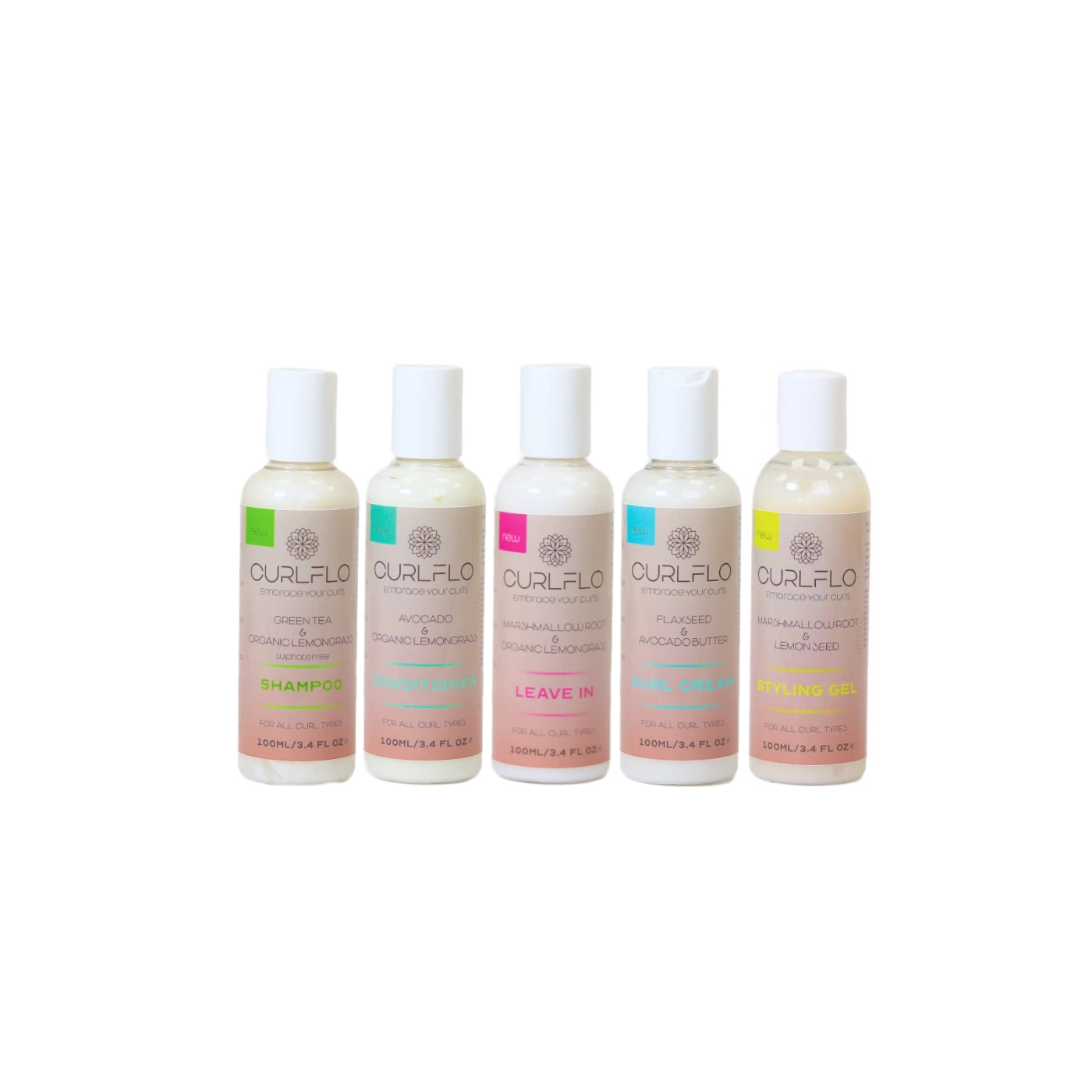 Curl Flo Travel Sizes