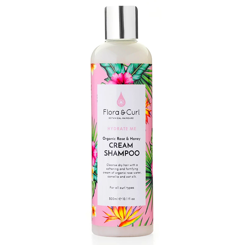 Organic Rose & Honey Cream Shampoo
