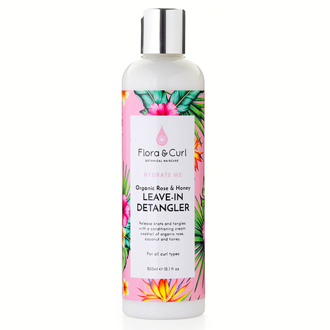 Organic Rose & Honey Leave-in Detangler