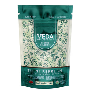 TULSI REFRESH (Tulsi & Peppermint) Loose Leaf