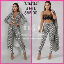 "Load image into Gallery viewer, ""Chatta"""
