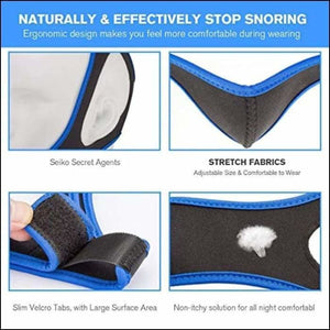Anti Snoring Chin Strap, Taisk Comfortable Natural Snoring Solution Snore  Stopper | Adjustable Effective Stop Snoring Sleep Aid Snore Reducing Aid  for