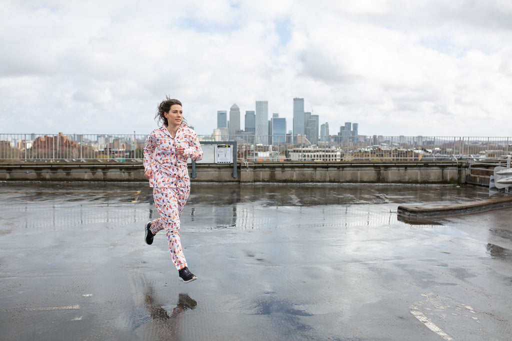 Running in Pyjamas has never been this fun
