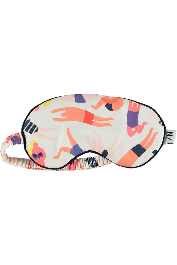 Sleepy printed bamboo eye masks super soft