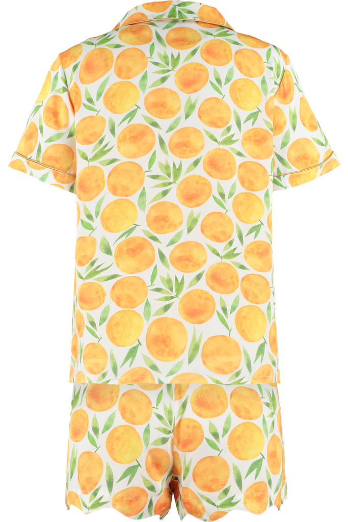 Clementine Fruity Bamboo Short Sleepwear Set
