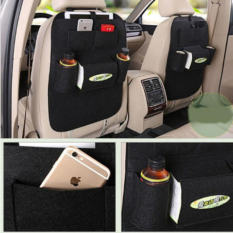 This Car Back Seat Organizer Is An Essential Accessory For Storing And Saving Vital Space In Your It Has Multiple Storage Compartments Including