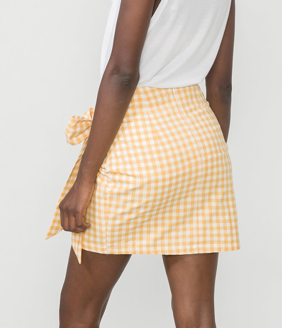 ELEANOR GINGHAM SKIRT