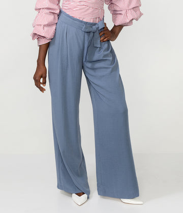 BRIELLE WIDE LEG TROUSERS