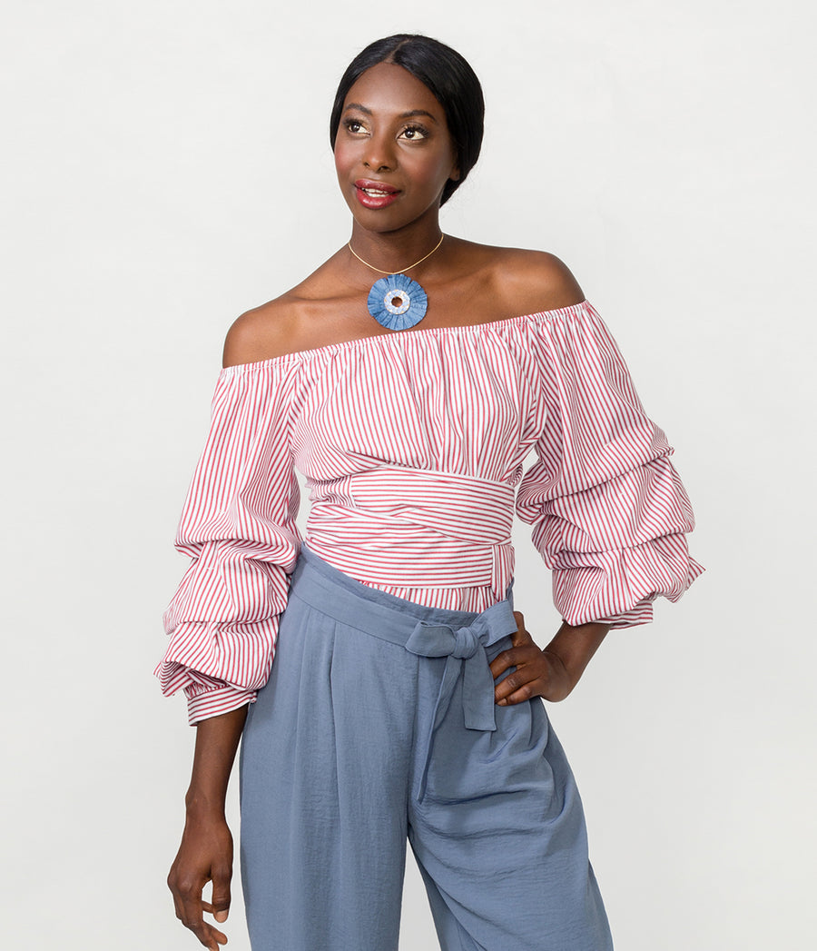 ADELAIDE OFF SHOULDER TOP