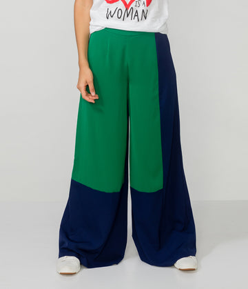 QUINN WIDE LEG TROUSERS
