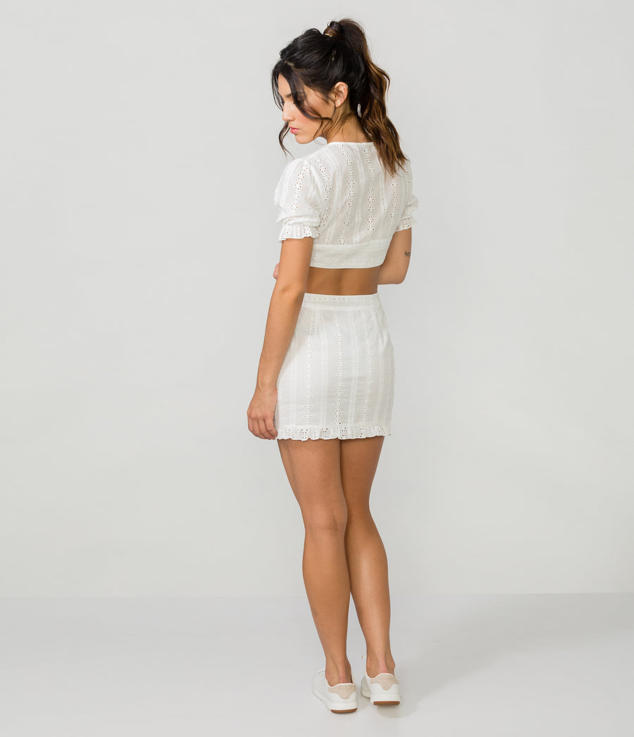 EYELET TWO-PIECE