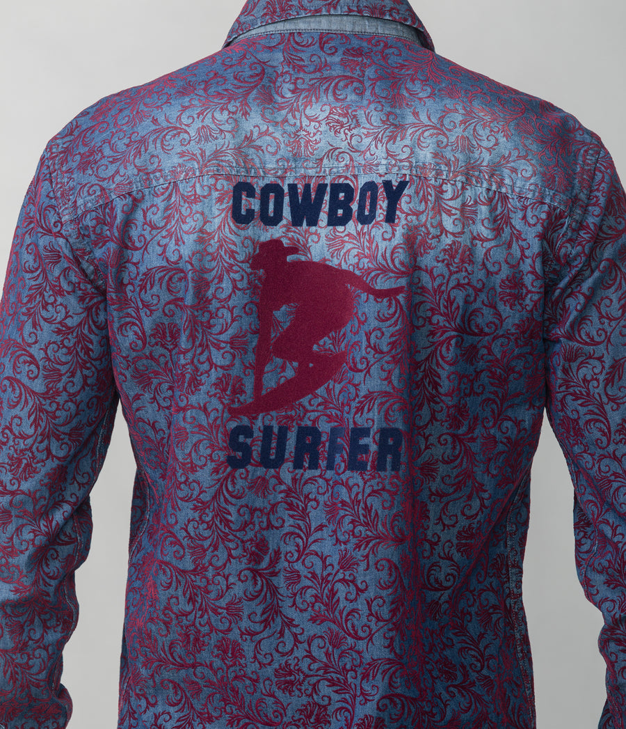 COWBOY SURFER SHIRT