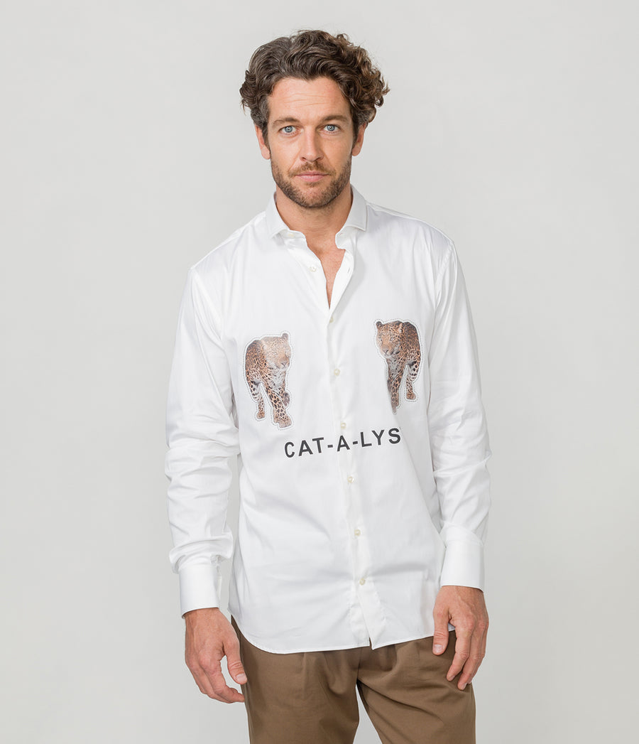 LEOPARD CATALYST SHIRT