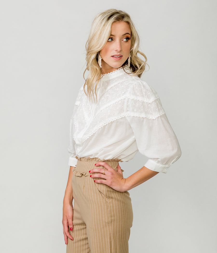 ANALEI VICTORIAN BLOUSE