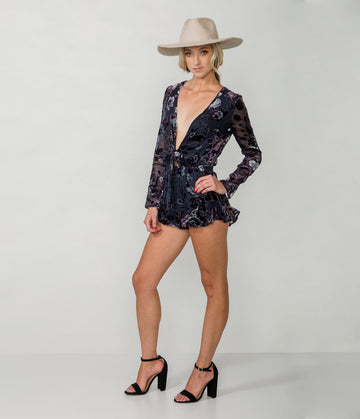 DANCING IN THE MOONLIGHT ROMPER