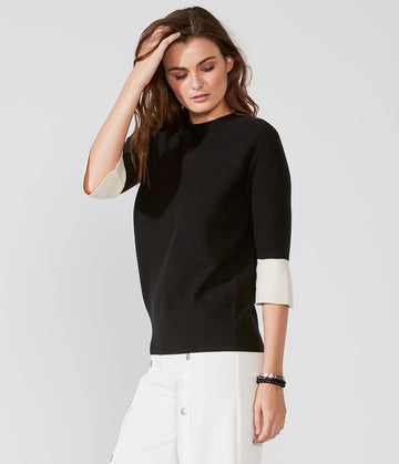 Flare Elbow Sweater