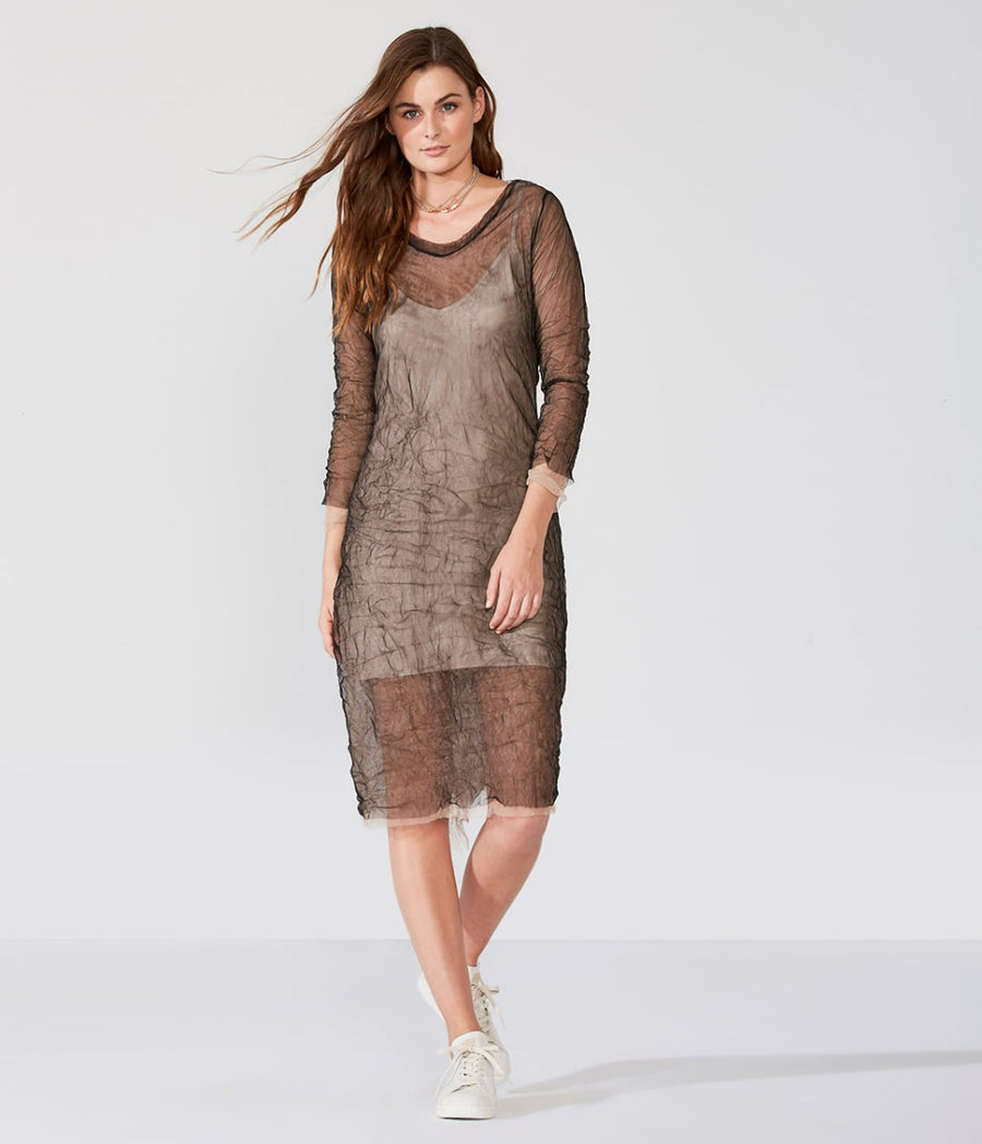 Two Layer Mesh Dress