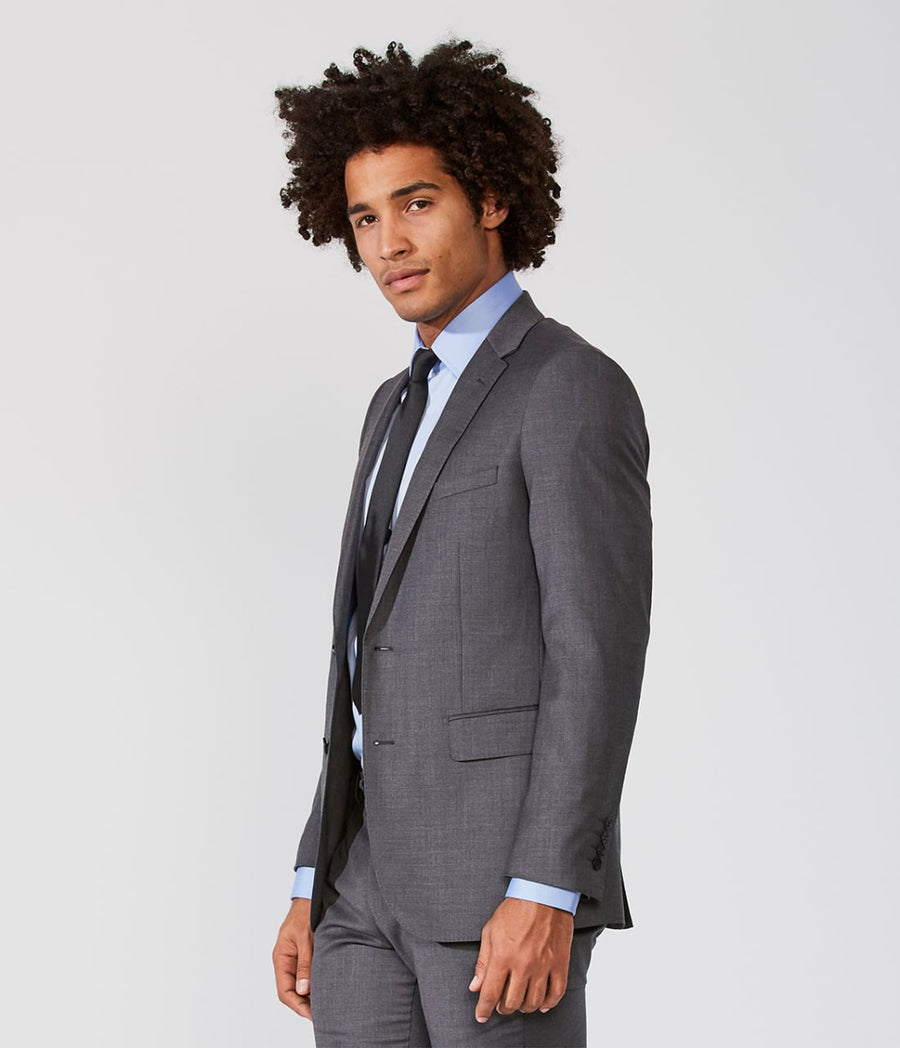 Suit Slim Two Buttons Super 120 Wool