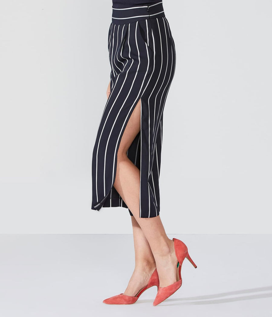 Pin Striped Culotte