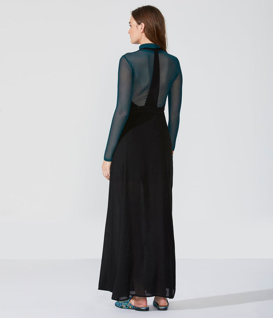 Racer-Back Button Front Maxi