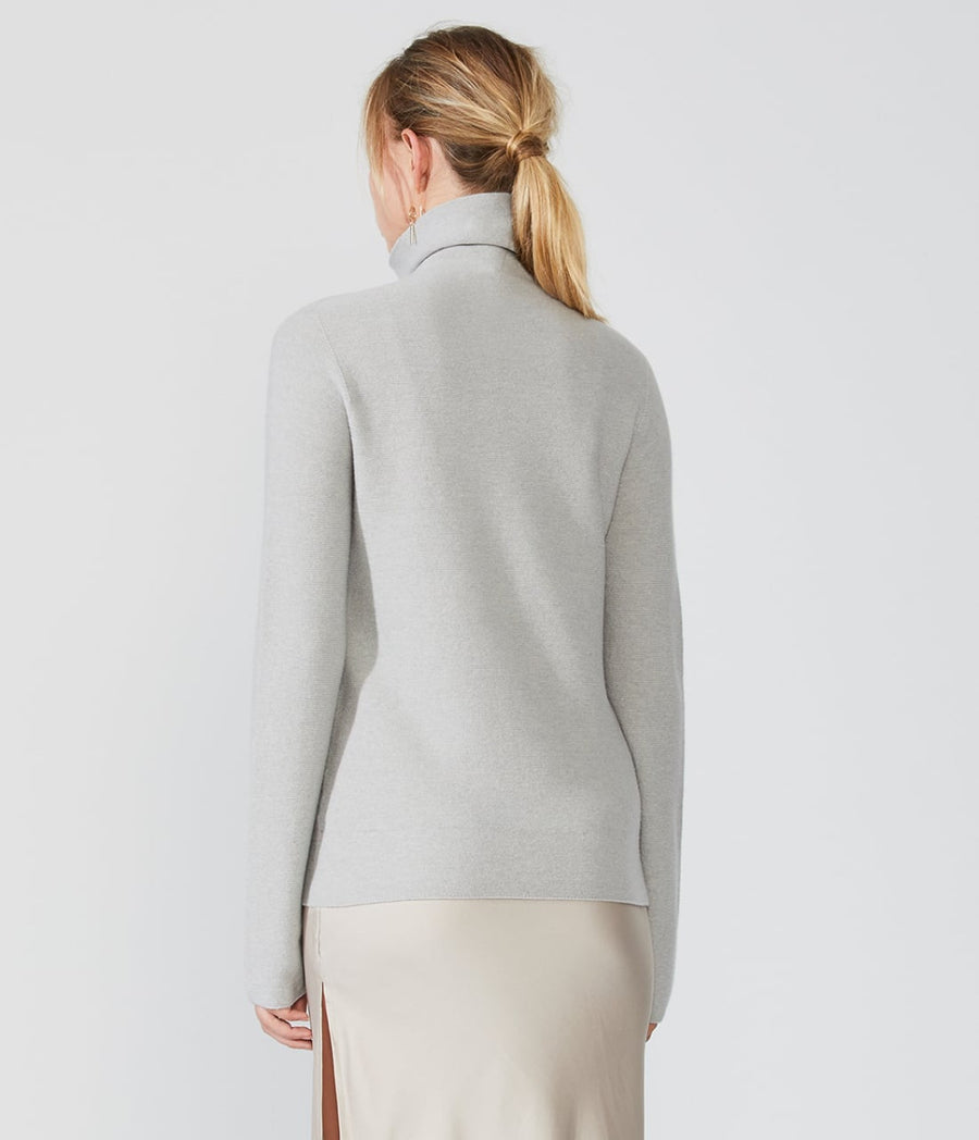Semi-Fitted Turtleneck