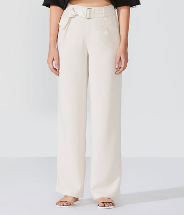 Palazzo Pant With Belt