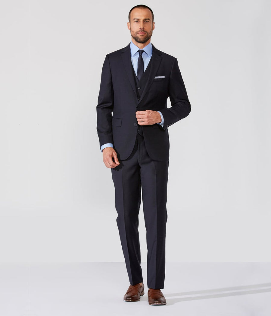 Slim Suit Two Buttons Super 120 Wool