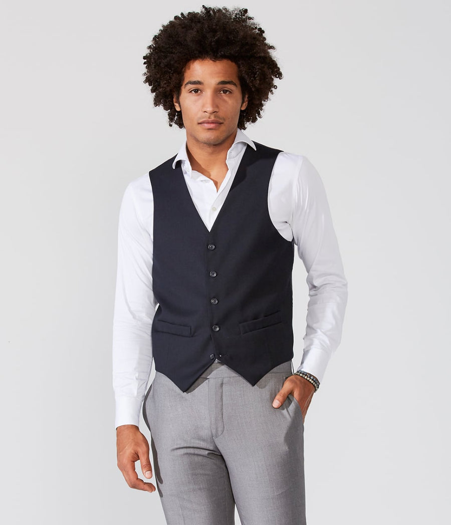 Suit Euroslim Two Bottons With Vest