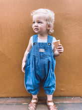Load image into Gallery viewer, Baby Overall - Storm Blue