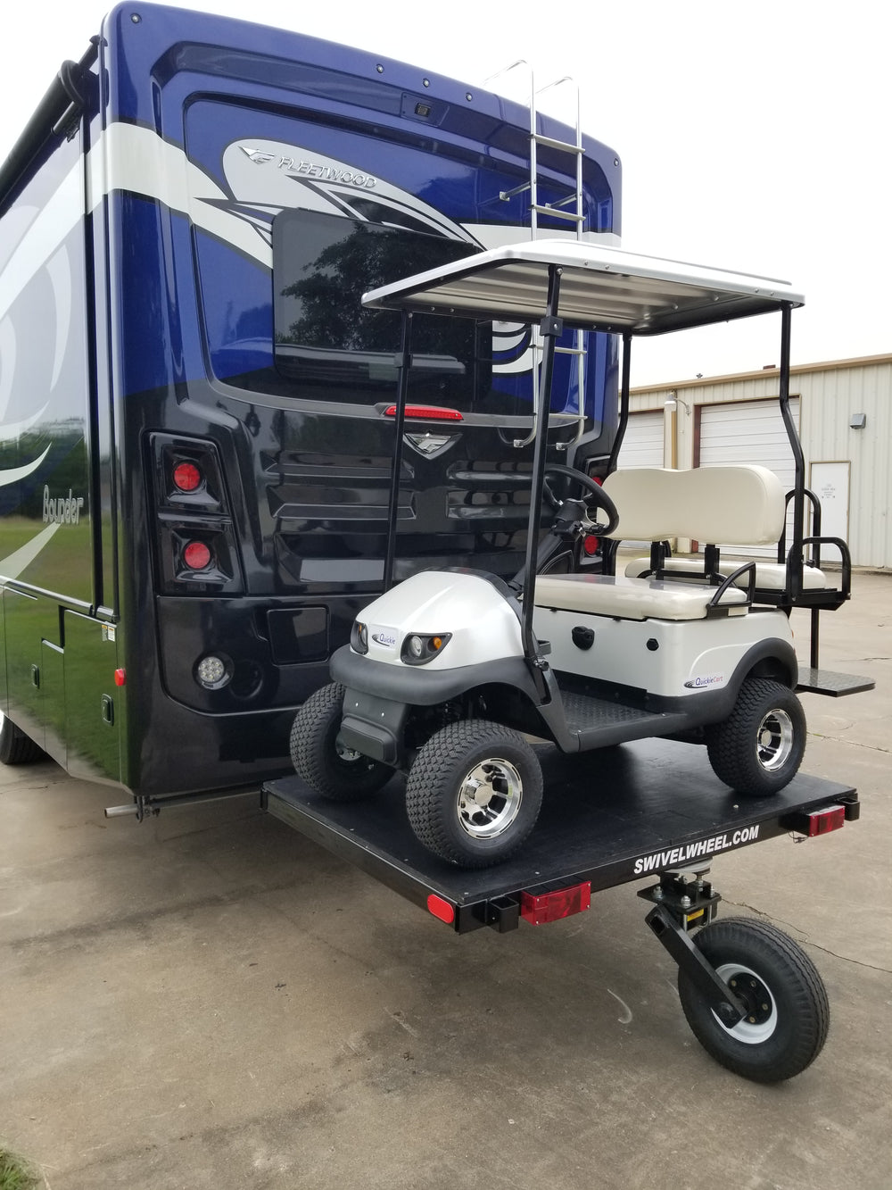 Quickie Mini Golf Cart Swivelwheel Hauler Carrier Fastmaster Products