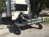 Swivelwheel Transport System, Swivelwheel Carrier, Swivelwheel Hauler, motorcycle carrier, scooter carrier, motorcycle hauler, scooter hauler, quickie mini golf cart hauler, quickie mini golf cart carrier, criket mini golf cart carrier,cricket mini golf cart hauler,dirt bike hauler, dirt bike carrier, carrier, golf cart hauler, golf cart carrier, atv hauler, atv carrier, Swivelwheel DW58, motorcycle, motorhome, fifth wheels, can-am carrier, can-am hauler, trike carrier, trike hauler