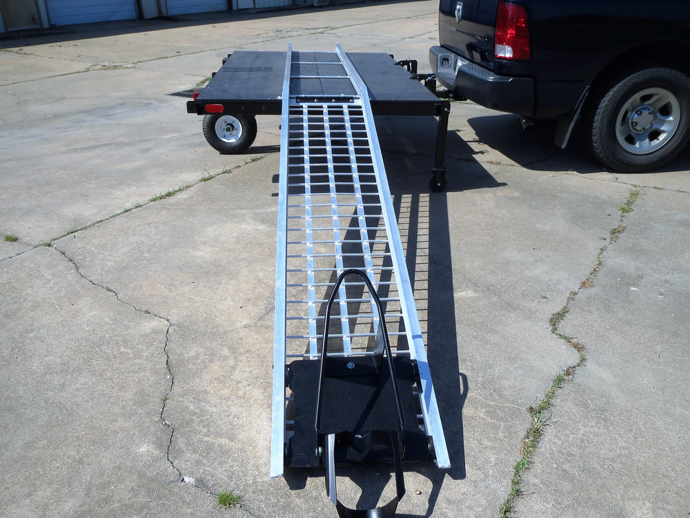 Power Ramp Motorcycle Loader, Self Loading Ramp, Safe Loading, Swivelwheel 58, Swivelwheel DW58, Swivelwheel DW58 Tandem Tow