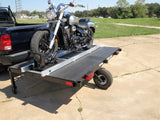 Power Ramp Motorcycle Loader, Self Loading Ramp, Safe Loading