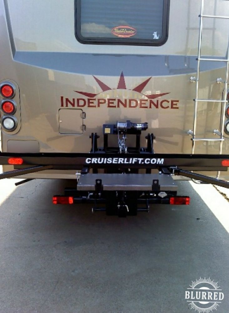 Cruiserlift Motorcycle Carrier, Motorcycle Rack, Hauler