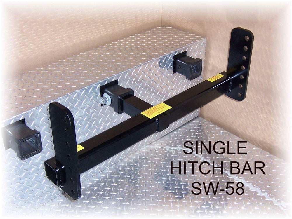 Single Point Hitchbar for Swivelwheel Transport System