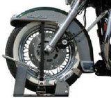 Locking Motorcycle WheelChock Carrier