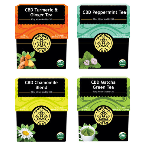 CBD Teas & Coffees – Curious Rick's Hemporium