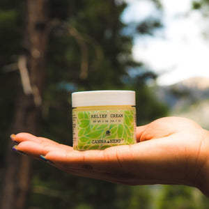 Canna Hemp - Nevada's Award Winning CBD Relief Cream - 2oz jar