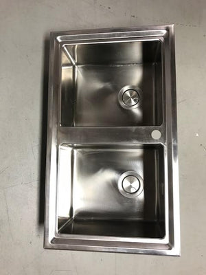 Abey Barazza Double Easy Sink SALE LAST ONE!!